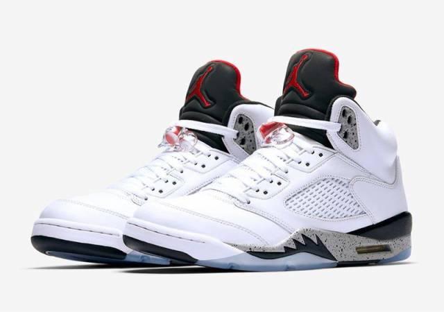 promo code 3b83e 69209 Air Jordan 5 White Cement