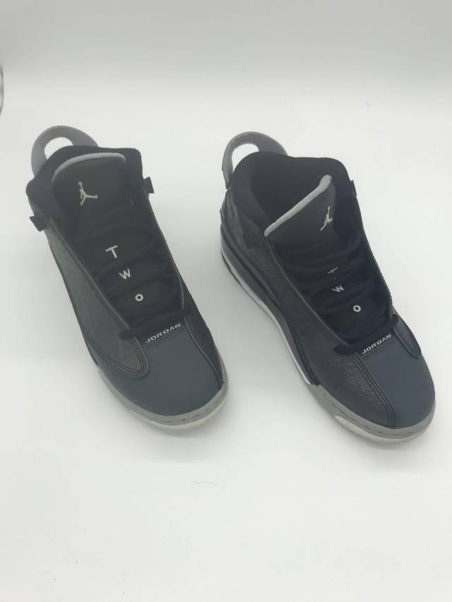 12bdafca15 Nike Air Jordan Dub Zero Black Wolf Grey (GS) | Kixify Marketplace