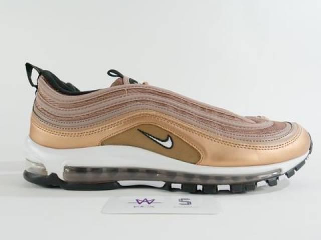 buy popular c76f0 fadd2 Nike Air Max 97 Metallic Red Bronze