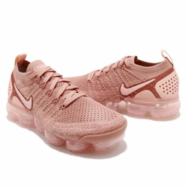 best website 935ea 47707 Women s W Nike Air VaporMax Flyknit 2 Rust Pink 942843-600