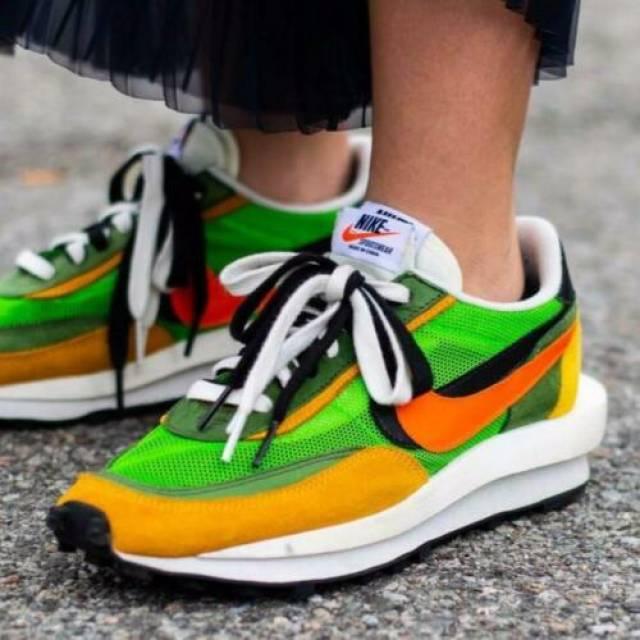 Nike LD Waffle Sacai Green Multi Size 8