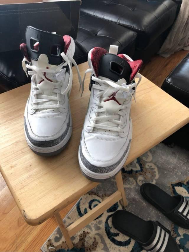 Jordan Spizike White Cement   Kixify