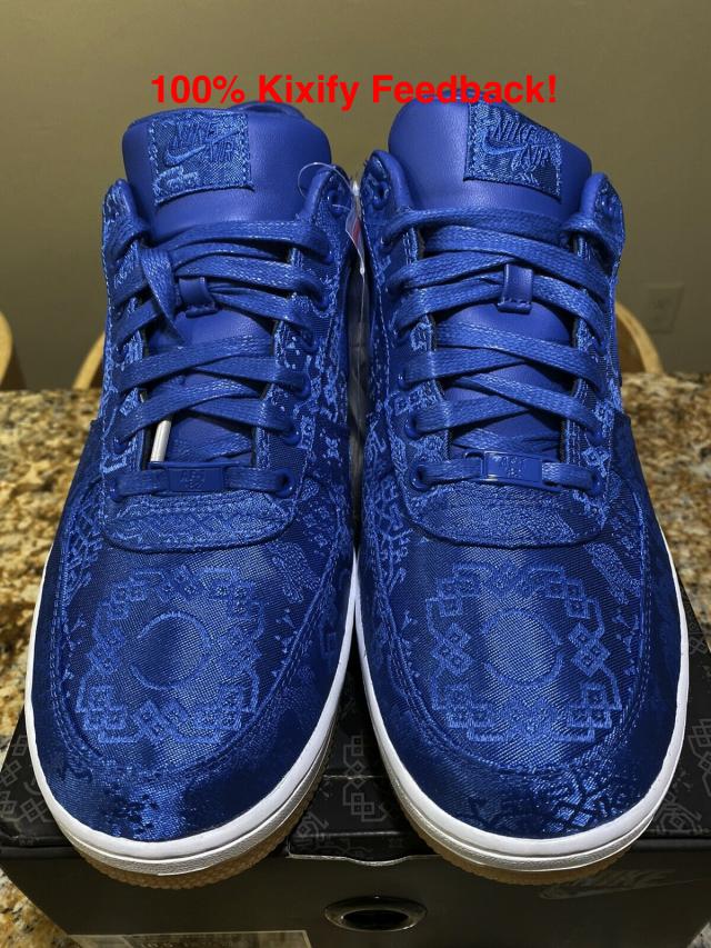 CLOT x Nike Air Force 1 Low Game Royal