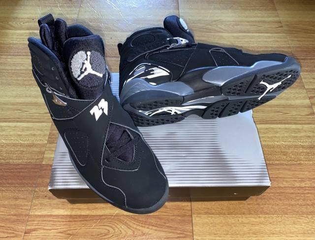 Air Jordan Retro 8 Chrome 2003