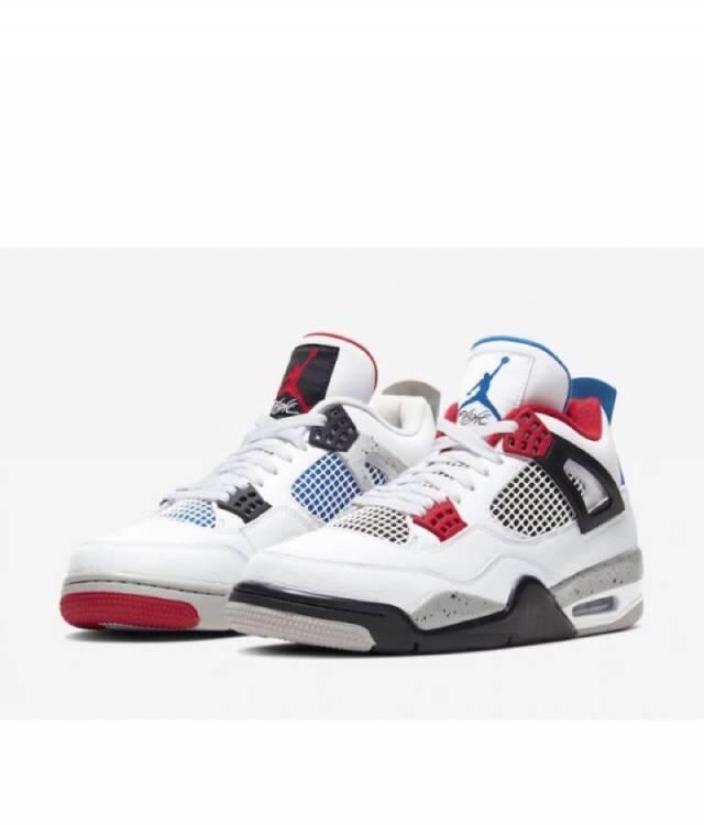 Air Jordan 4 Retro WHAT THE White