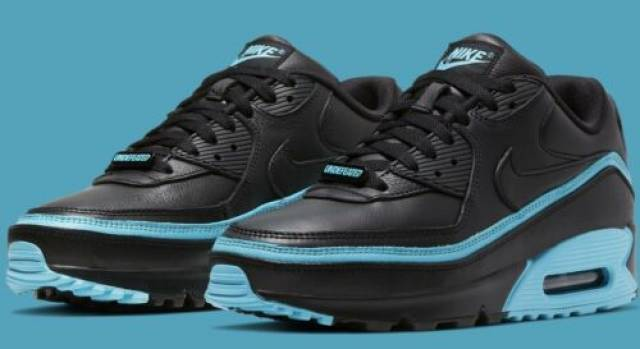 Nike Air Max 90 Undefeated Black Blue Fury Mens Shoes Kixify