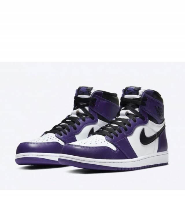 Air Jordan 1 Retro High OG Court Purple White (MENS) | Missgolf ...