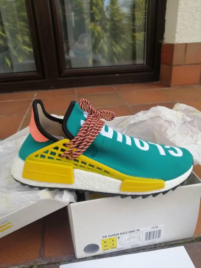 Pharrell x adidas NMD Hu Trail Sun Glow