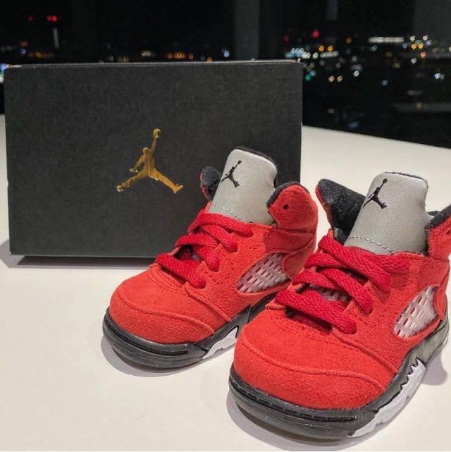 Air Jordan 5 Retro TD 'Raging Bull' 2021