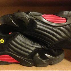 Air jordan 14 retro black vars...