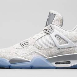 Nike air jordan 4 retro laser ...