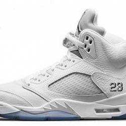 Air jordan 5 retro metallic si...