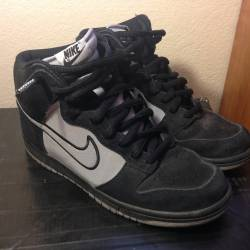 Nike prm high top sb dunk 3m p...