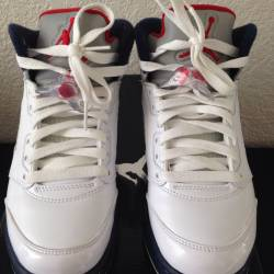 Air jordan 5 retro sz 4 $95