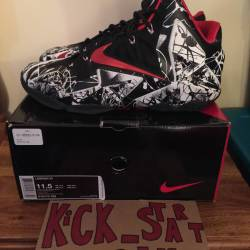 Lebron 11 graffiti