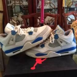 """Nike air jordan retro 4 """"milit..."""