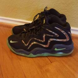 Air pippen 1 flash lime green