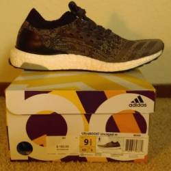 Adidas ultra boost black uncag...