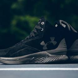 Curry one (1) lux black