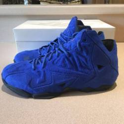 Lebron 11 ext blue suede
