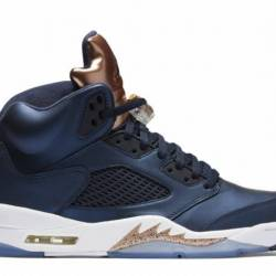 Air jordan 5 retro bronze tong...