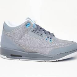 Nike air jordan 3 grey