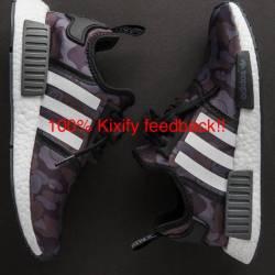 Adidas nmd x bape ba7325 black...