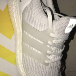 Adidas ultra boost 3.0 white 9.5