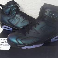 Ds air jordan vi chameleon all...