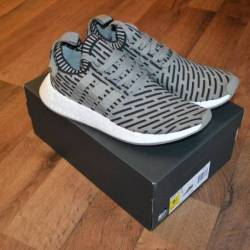 Adidas nmd r2 primeknit shoes ...