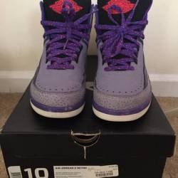 Air jordan retro ii iron purple