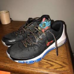 Nike kd 8 bhm sz 11 black hist...