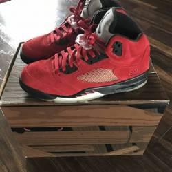 Jordan 5 raging bull (red)