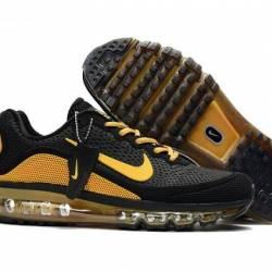 Black and yellow nike air max ...