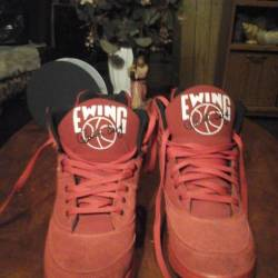 Ewing 33 hi red suede