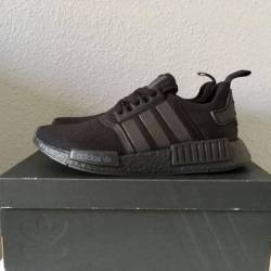 Triple black nmd's