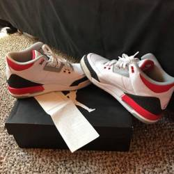 Nike air jordan retro 3 fire r...