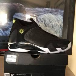 Jordan 14 indeglo sz 9.5 ds 2016