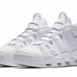 $219.99 Nike air more uptempo white wh.
