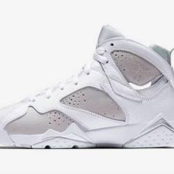 Air jordan 7 pure money white ...