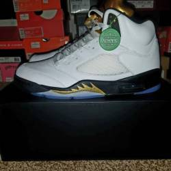 Jordan retro 5 olympic gold 2016