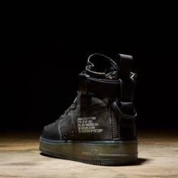 Nike sf af1 mid qs black tiger...