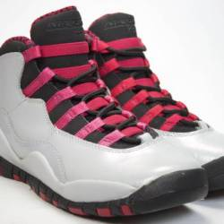 Air jordan 10 grey pink