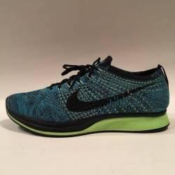 Nike flyknit racer blue gecko