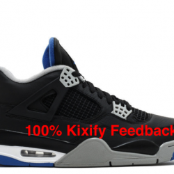Air jordan 4 alternate black m...