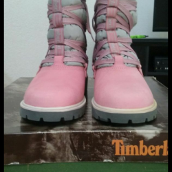 Timberland womens quilted boot...