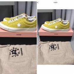 Converse golf yellow
