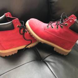 Timberland red