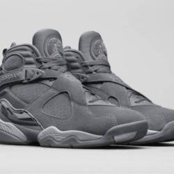 Air jordan 8 cool grey wolf gr...