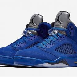 Air jordan 5 blue suede gs